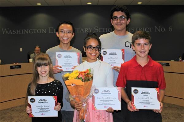 Students Receive Perfect Scores on Both Math and English AzMERIT Test