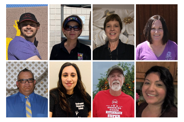 Congratulations to the March Employees of the Month!
